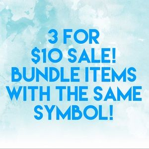 🌟3 for $10 Sale!🌟